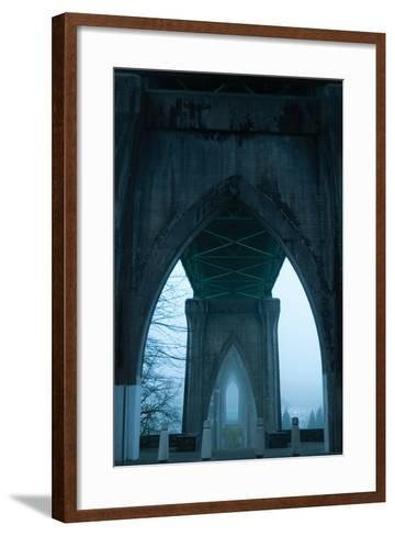 St. Johns Arches I-Erin Berzel-Framed Art Print