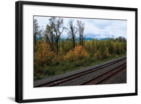 Union Pacific IV-Erin Berzel-Framed Art Print