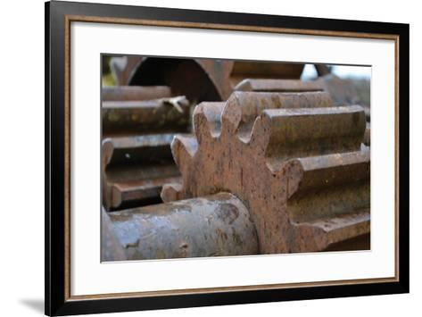 Gears II-Brian Moore-Framed Art Print