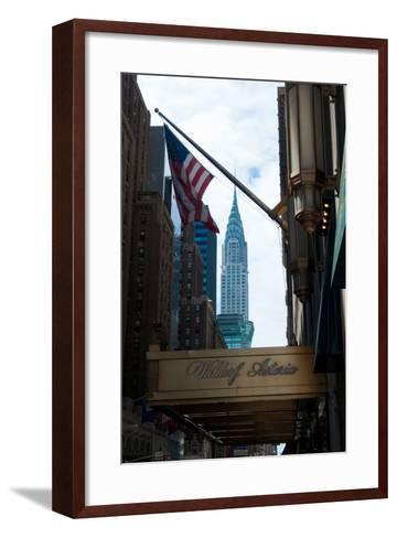 Chrysler Building II-Erin Berzel-Framed Art Print