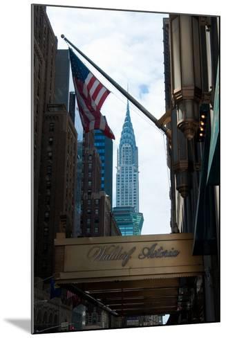 Chrysler Building II-Erin Berzel-Mounted Photographic Print
