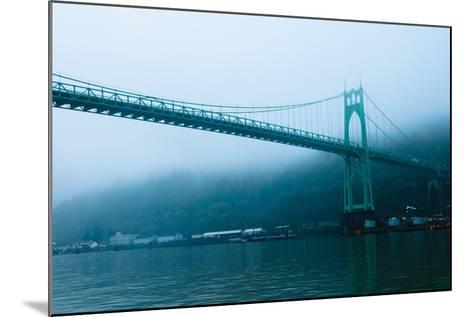 St. Johns Bridge IX-Erin Berzel-Mounted Photographic Print