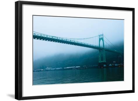St. Johns Bridge IX-Erin Berzel-Framed Art Print
