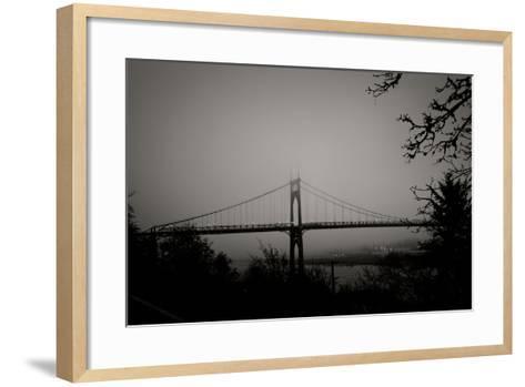 St. Johns Bridge V-Erin Berzel-Framed Art Print