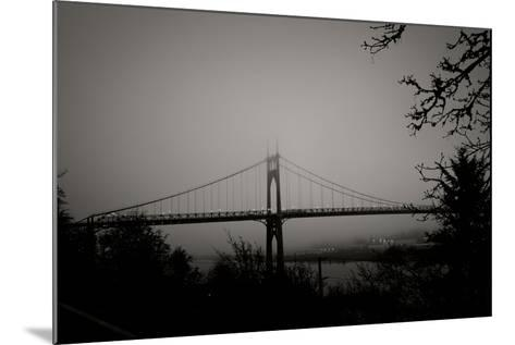 St. Johns Bridge V-Erin Berzel-Mounted Photographic Print