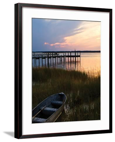 Channel Sunset III - Mini-Alan Hausenflock-Framed Art Print