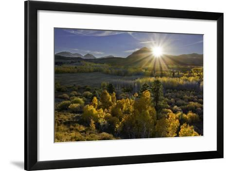 Eastern Sierra I-Mark Geistweite-Framed Art Print