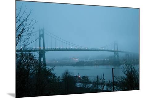 St. Johns Bridge VII-Erin Berzel-Mounted Photographic Print