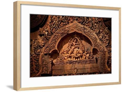 Carvings III-Erin Berzel-Framed Art Print