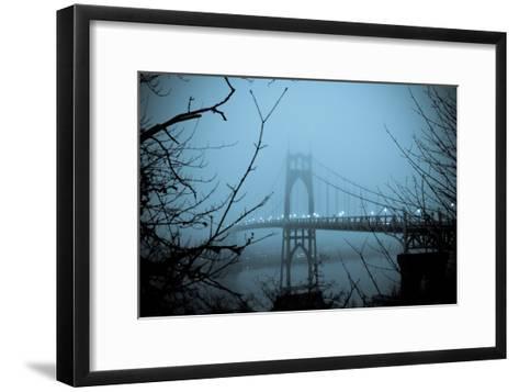 St. Johns Bridge VIII-Erin Berzel-Framed Art Print