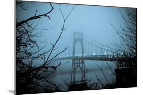 St. Johns Bridge VIII-Erin Berzel-Mounted Photographic Print
