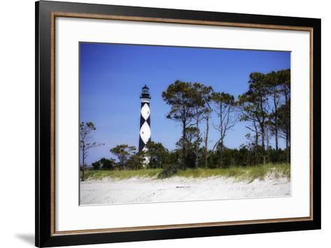 Cape Lookout Light III-Alan Hausenflock-Framed Art Print