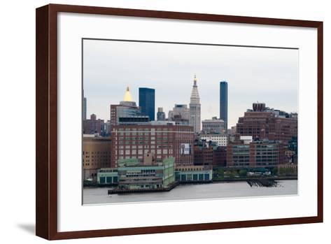 NYC Pier 57 I-Erin Berzel-Framed Art Print