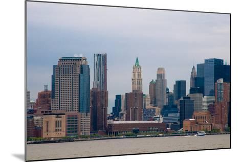 Manhattan Cityscape II-Erin Berzel-Mounted Photographic Print