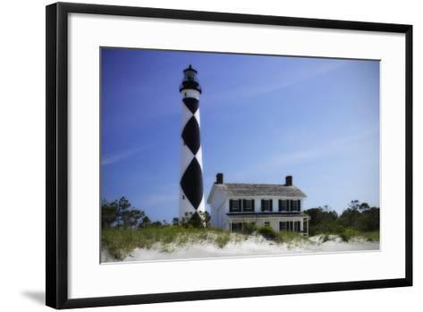 Cape Lookout Light II-Alan Hausenflock-Framed Art Print