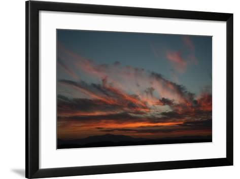 Cloudy Sunset I-Erin Berzel-Framed Art Print