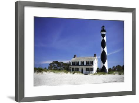 Cape Lookout Light I-Alan Hausenflock-Framed Art Print