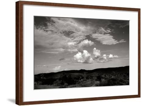 Clouds in Joshua Tree II-Erin Berzel-Framed Art Print