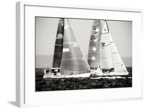 Race on the Chesapeake III-Alan Hausenflock-Framed Art Print
