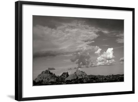 Clouds in Joshua Tree I-Erin Berzel-Framed Art Print