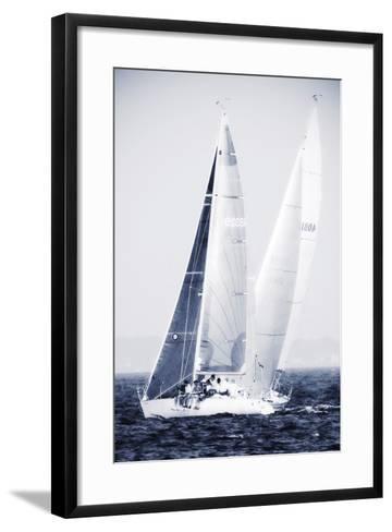 Summertime Race 5-Alan Hausenflock-Framed Art Print