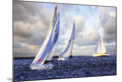 Sailing at Sunset I-Alan Hausenflock-Mounted Photographic Print