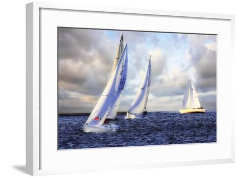 Sailing at Sunset I-Alan Hausenflock-Framed Art Print