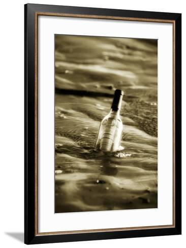 Message in a Bottle II-Alan Hausenflock-Framed Art Print