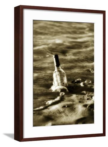 Message in a Bottle I-Alan Hausenflock-Framed Art Print