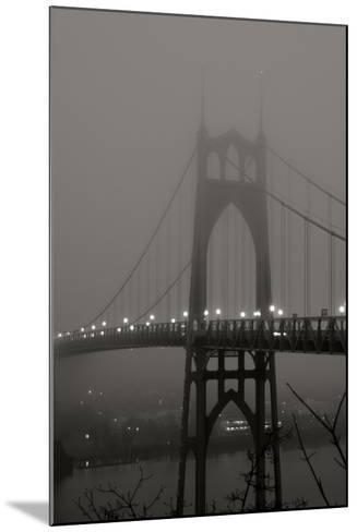 Fog at Dawn II-Erin Berzel-Mounted Photographic Print