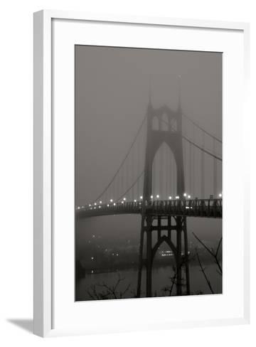 Fog at Dawn II-Erin Berzel-Framed Art Print