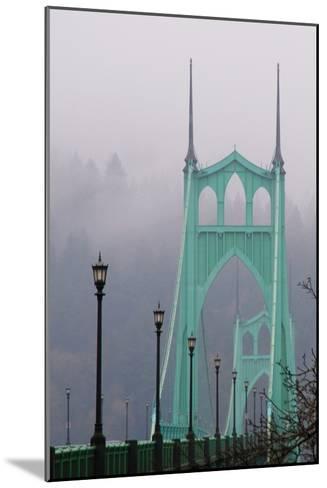 Light on the Bridge II-Erin Berzel-Mounted Photographic Print