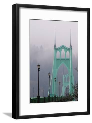 Light on the Bridge II-Erin Berzel-Framed Art Print