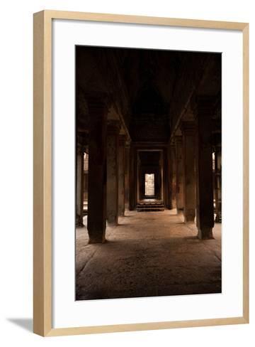Angkor Wat I-Erin Berzel-Framed Art Print
