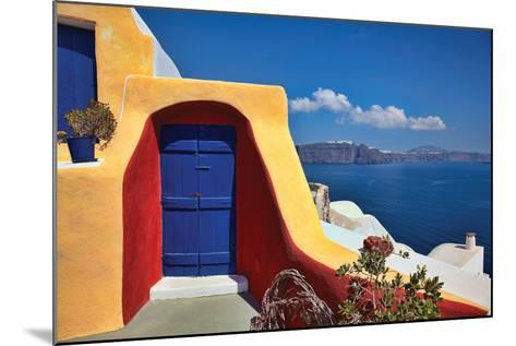 Deck Ocean View II-Larry Malvin-Mounted Photographic Print
