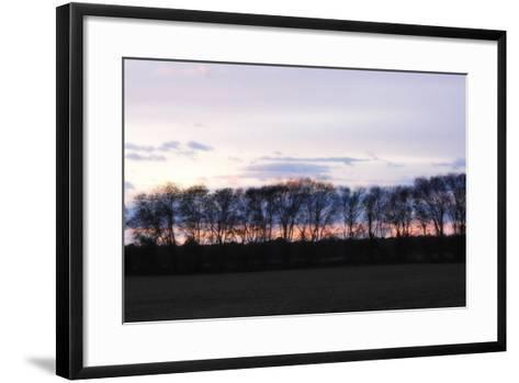 Winter Sunset 2-Alan Hausenflock-Framed Art Print