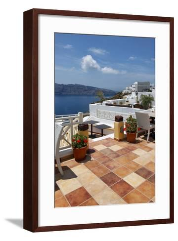 Terra Cotta Deck Caldera-Larry Malvin-Framed Art Print