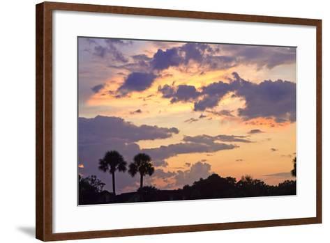 San Marcos Sunset 3-Alan Hausenflock-Framed Art Print