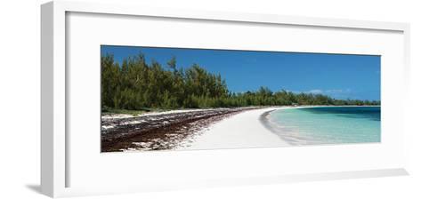 Winding Bay Beach II Panel-Larry Malvin-Framed Art Print