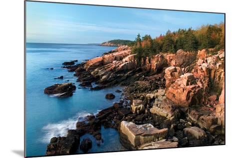 Acadia Coastline-Larry Malvin-Mounted Photographic Print