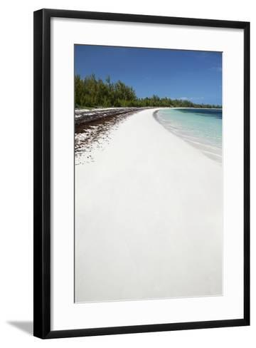 Winding Bay Beach II-Larry Malvin-Framed Art Print