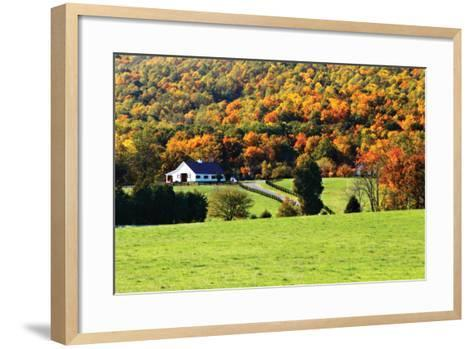 Mountain Farm 1-Alan Hausenflock-Framed Art Print