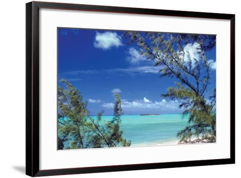 Pelican Cay-Larry Malvin-Framed Art Print
