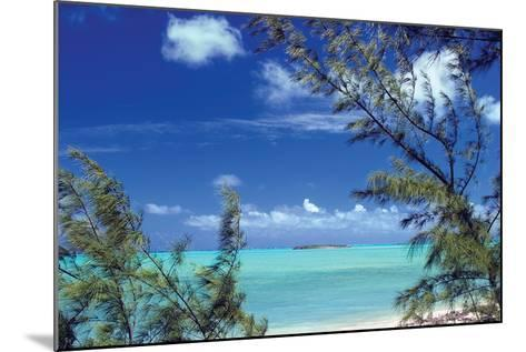 Pelican Cay-Larry Malvin-Mounted Photographic Print