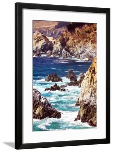 Garrapata Highlands IV-Alan Hausenflock-Framed Art Print