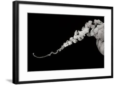 Jellyfish Glow X-Erin Berzel-Framed Art Print