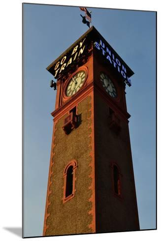Clock Tower-Brian Moore-Mounted Photographic Print