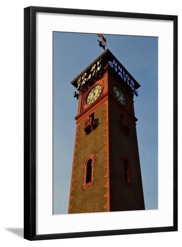 Clock Tower-Brian Moore-Framed Art Print