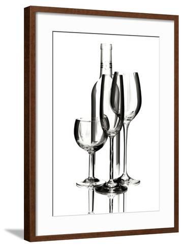 Wine Reflections IV-C^ McNemar-Framed Art Print