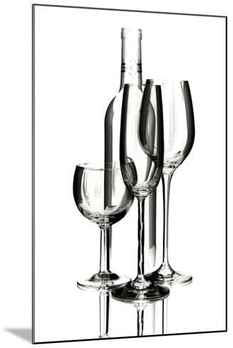 Wine Reflections IV-C^ McNemar-Mounted Photographic Print